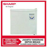 SHARP Mini Bar Kulkas Portable SJ-50MB-XW