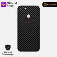 [EXACOAT] Oppo F5 3M Skin / Garskin - Carbon Fiber Black