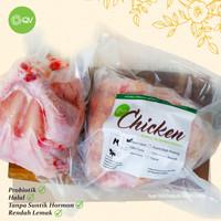 Ayam Utuh Probiotik Organik Frozen (800-1000gr)