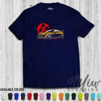 Kaos/Baju Distro/Tshirt Toyota GT86 Colorized Yellow