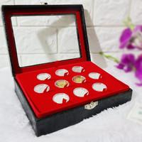 Kotak Mahar Dinar Dirham / Box Koin Dinar dan Dirham - 10 Koin