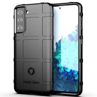 Armor Shield TPU Case Samsung Galaxy S21 6.2 - Casing Black Soft Cover