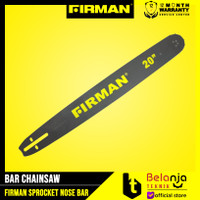 Firman Bar Chainsaw 20 Inch Sprocket Nose Bar Mesin Potong Kayu 20 In