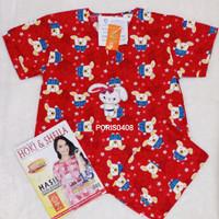 Baju Tidur HOKI & SHEILA Celana 3/4 Katun wanita (have fun)