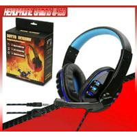 Headphone Gaming ELITE HiFi W-160 Headband Gaming For Computer PS4