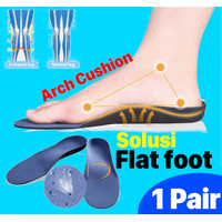 medial arch support insole for flat foot / kaki lepek -COMFORT CUSHION