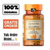 Puritan Vitamin C 1000 mg Time Release isi 60 Puritan's Vit C 1000mg