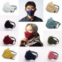 [ PAKET LUSINAN ] Masker kain HEADLOOP/masker duckbill Evo Terbaik - PAKET LUSINAN, isi 12pcs