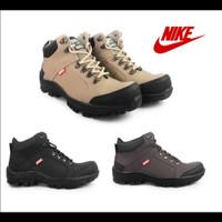 Sepatu boots Pria Nike Amazon California Safety Ujung Besi Bikers