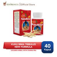 Kuku Bima Tribulus New Formula 40 Kapsul - Suplemen Herbal Pria