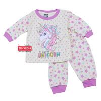 Piyama Abila Baby 3-12 bulan / Setelan Bayi Perempuan Baju Tidur Cewe