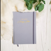 Baby Journal Custom Nama / Buku Journal Bayi Thre Design