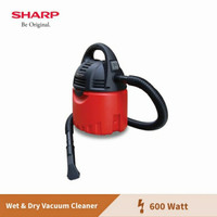 Sharp Vacuum Cleaner / Penyedot Debu LOW WATT - BASAH KERING EC CW60