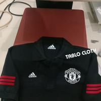 Polo shirt Pria Kaos Kerah Manchester united