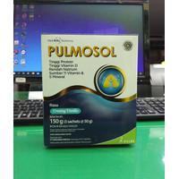 PULMOSOL SUSU RASA CREAMY VANILLA ISI 150 g (3 sachet @ 50g)