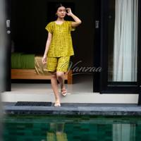 Babydoll Bali | Piyama Motif | Baju Tidur Setelan Adem Motif BP05