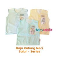 3 PCS Baju Kutung FLUFFY BABY SALUR Size NewBorn / Baju Kutung Bayi