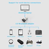 USB Bluetooth 5.0 Dongle Adapter Windows Mac Apple Receiver Sending