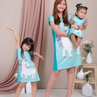 Mini Dress Anak Perempuan Import/Dress Couple Ibu Dan Anak/Baju Couple