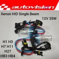 (2 PCS) Autovision Xenon HID Tuner Bulb H1 H7 H11 HB4 4300K/6000K