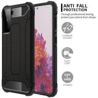 Dual Shock Armor Case Samsung Galaxy S21 6.2 - Clear Cover Hard Soft