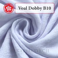 Jual Kain Voal Dobby B10 Murah Bahan Kerudung/Jilbab