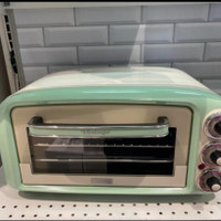 ariete oven toaster vintage 18 ltr Hijau Oven Listrik Vintage 18 liter