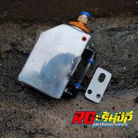 botol/tabung reservoir air radiator almunium ninja r/rr, vixion