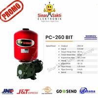 Pompa air sumur dalam shimizu jet pump pc-260 bit + tangki