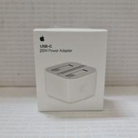 APPLE Adapter USB-C Kepala Charger 20W Iphone 12 Pro Max UK Kaki 3 Ori