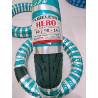 ban tubles motor matic ring 14 - 80/90 depan *free pentil