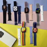 Smartwatch CUSTOM WALLPAPER SIRI FK88 iwo jam apple seri 5 6 7 FK78 14 - Merah Muda, FK88 PRO