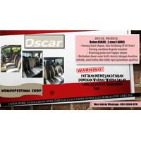 Sarung Jok Mobil Agya Ayla Jazz Sirion dll - Bahan OSCAR (3&2 Baris)