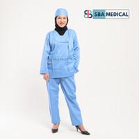 baju ok medis/ baju jaga rumah sakit / baju bedah