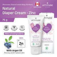 Attitude - Krim Popok Bayi - Natural Diaper Cream - Zinc