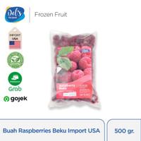 Dels Frozen Fruit Raspberry Beku 500gr
