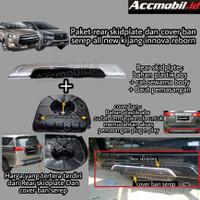 paket rear skid plate skidplate dan cover ban innova reborn