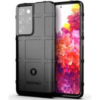 Armor Shield TPU Case Samsung Galaxy S21 Ultra - Casing Black Soft Fit