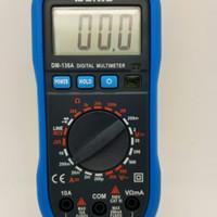 Multimeter digital Dekko avometer voltmeter DC AC