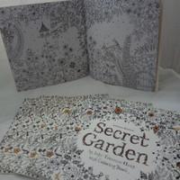 Mini Coloring Book Secret Garden by Johanna basford