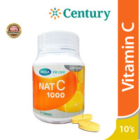Mega We Care Nat C 1000 Mg 10 Tablet/Vitamin C/Daya Tahan Tubuh