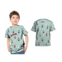 2S5 - Baju Kaos Tshirt Anak Ultraman Ultramen Baby Fullprint Custom - - S