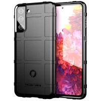 Armor Shield TPU Case Samsung Galaxy S21 Plus - Casing Black Soft Fit