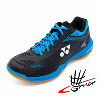 Sepatu Badminton Yonex SHB 65Z2M / 65 Z 2 M Black Blue Original SP