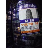BAN LUAR MOTOR MIZZLE TUBELESS M89 110/70-14