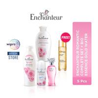 Enchanteur Romantic Complete Set + Bio Essence Gold Water