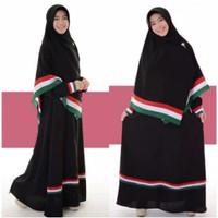Gamis Baju Muslim Syar'i Palestina Palestine free Hijab jilbab krudung