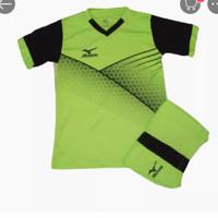 Baju olahraga stelan jersy kaos futsal Bola volly ukuran anak anak SD