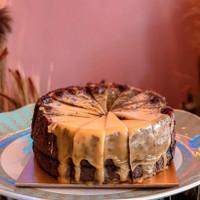 lumiere cake coklat asix dengan ake cuwi kekinian