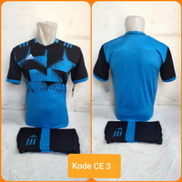 1 lusin/12 set baju kaos olahraga jersey stelan futsal voley bola CE-3